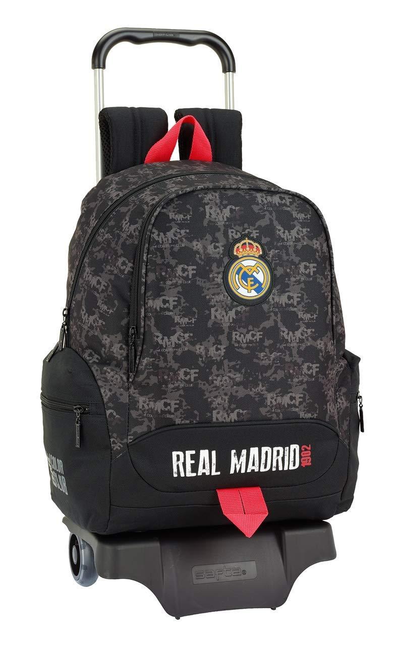 61ClcnwfeZL - Real Madrid CF- Real Madrid Trolley, Color Negro (SAFTA 611924313)