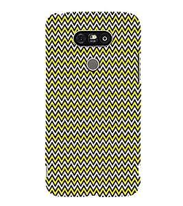 Glow Chevron Arrows 3D Hard Polycarbonate Designer Back Case Cover for LG G5 :: LG G5 H850 H820 VS987 LS992 H860N US992
