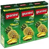 Granini Bebida de Nectar Piña -Pack de 3 x 20 cl - Total: 600 ml
