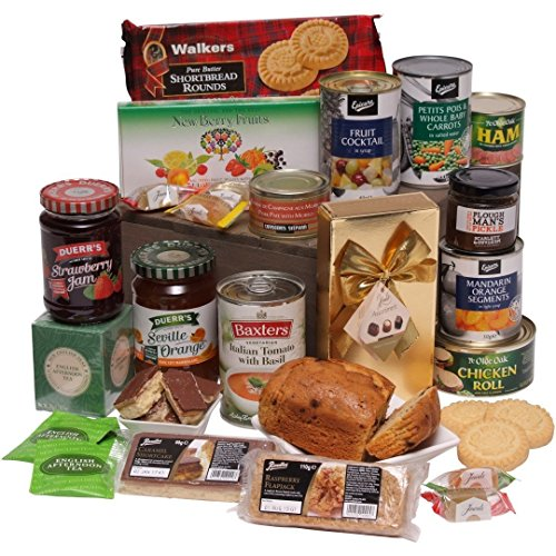Senior Choice Gift Hamper - The Classic Gift For Older Friends and Family - Food Hampers and Food Gifts