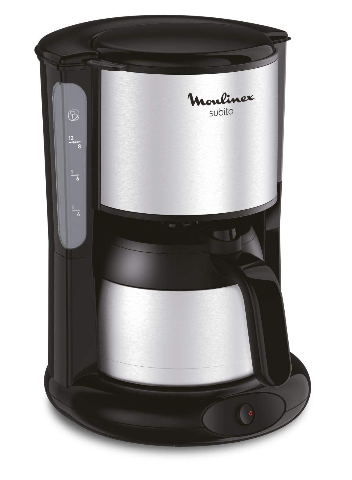 Moulinex-FT360811-Thermo-Kaffeemaschine-Subito-edelstahlSchwarz