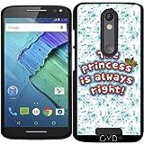 Hülle für Motorola Moto X (3 generation) - Die Prinzessin