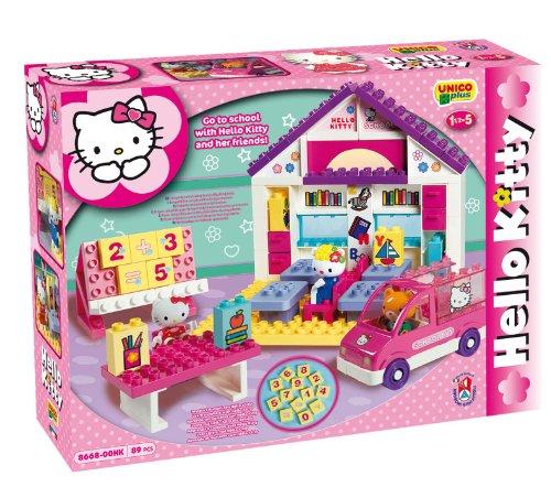 Ecole hello kitty - briques - jeu de construction