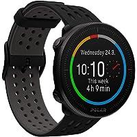 Polar Unisex - Adult Vantage M2 Multisport Watch, Black/Grey, S-L