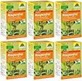 GARDOPIA Sparpaket: 6 x 25 g Neudorff Raupenfrei Xen Tari + Gardopia Zeckenzange mit Lupe