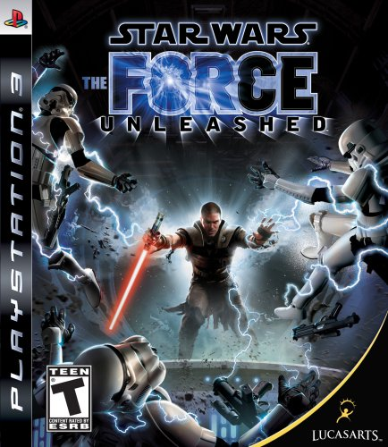 LucasArts Star Wars: The Force Unleashed, PS3, ESP