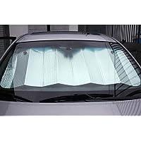 Lukzer 1 Pc Car Sunshade UV Ray Reflector Auto Window Sun Shade Visor Shield Cover, Keeps Vehicle Cool/Foldable…