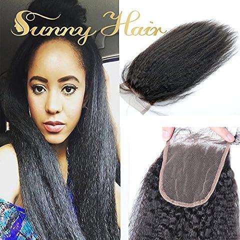 Sunny Top Closure Tissage Bresilien Cheveux Partie Libre 4*4