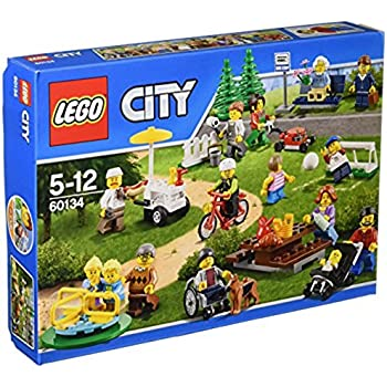Lego 60134 - City - Jeu de Construction - Le Parc de Loisirs