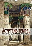 Ägyptens Tempel (Wandkalender 2018 DIN A4 hoch): Ein Jahr auf den Spuren der Pharaonen (Geburtstagskalender, 14 Seiten ) (CALVENDO Orte) [Kalender] ... Layout: Babette Reek, Bilder: