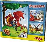 Haba 303353 - Puzzles Ritter Kilian, Spiel
