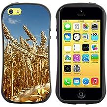 Super Galaxy iFace Series Tpu Silicona Carcasa Funda Case // V00005514 campo de trigo amarillo madura // Apple iPhone 5C