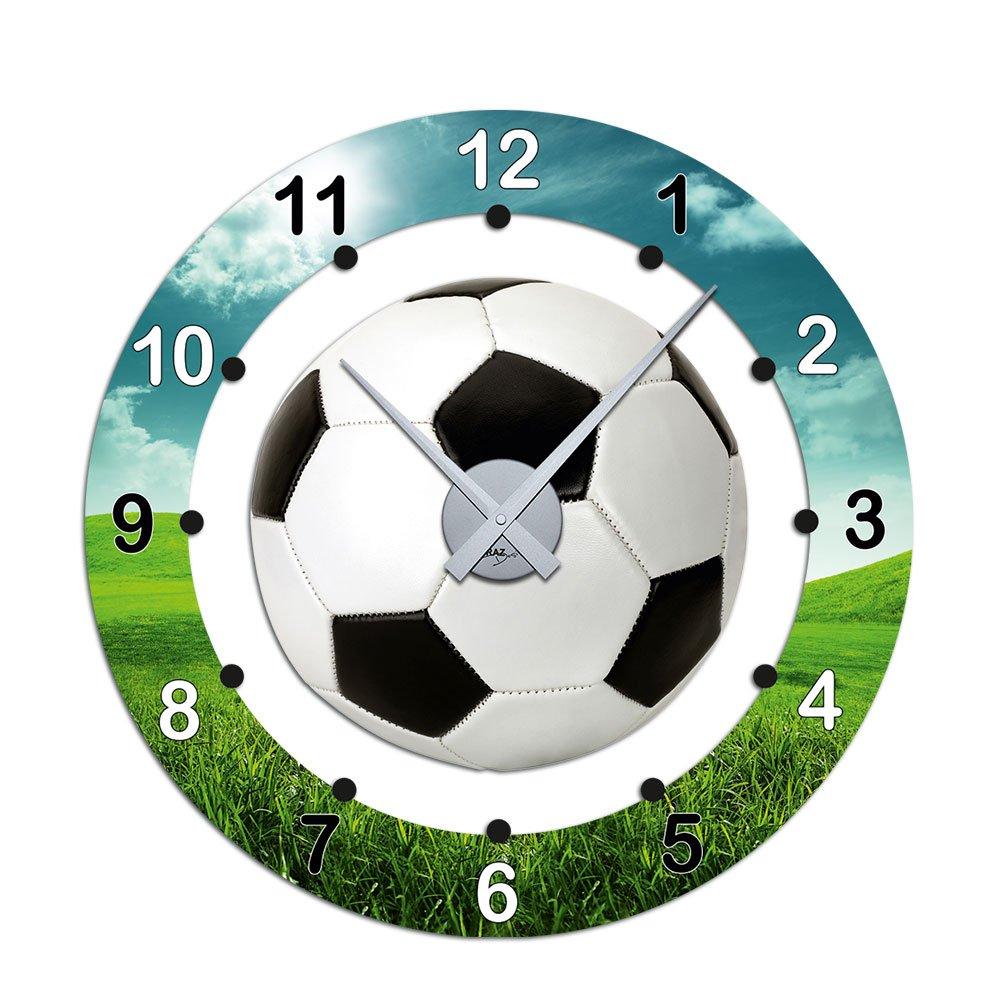 Amazon.de: Graz Design 801020_AL Wandsticker Uhr mit Uhrwerk ...