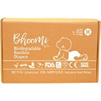 Bhoomi & Co Green Baby Diapers Medium 44 Count