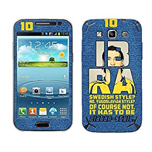 Bluegape Samsung Galaxy Grand Quattro i8552 Zlatan Ibrahimovic Football Player Phone Skin Cover, Multicolor
