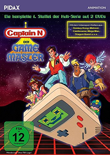 Captain N: Der Game Master, Staffel 1 / Die komplette 1. Staffel der Kultserie (Pidax Animation) [2 DVDs] (Der Master-tv-serie)