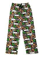 Mens Character Lounge Pants Pyjamas Pj Bottoms Trousers Cartoon Comic Boys Nightwear Size UK M