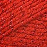 Twinkle Fashion DK Double Knitting Wool 100g Glitter Yarn James Brett (Red TK3)