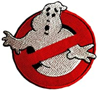 Ghost Buster Patch applique Ghost Buster toppa da immagini per bambini da stiro toppe embroidered Iron On Comic patches applicazione