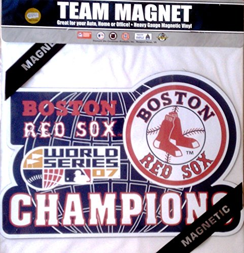Fremont Die Boston Red Sox 2007 Champions 30,5 cm Magnet Heavy Duty Automatische Home Baseball World Series Championship -