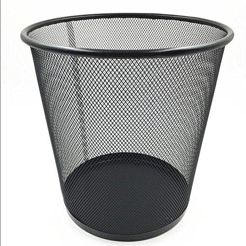 household-bidoni-ufficio-con-metallo-di-grandi-dimensioni-carta-cestino-dei-rifiuti-maglia-rotondi-b