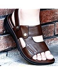 OME&QIUMEI Sandales Sandales Sandales Sandales Sandales Noir 43 ITrTyra