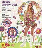 Rubies Rubie'S–Disfraz Chica Hippy años 70, Adultos, Talla L
