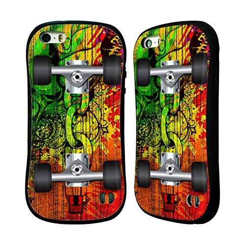 Head Case Designs Raggae Skateboards Hybrid Hülle für Apple iPhone 6 / 6s Spritzer