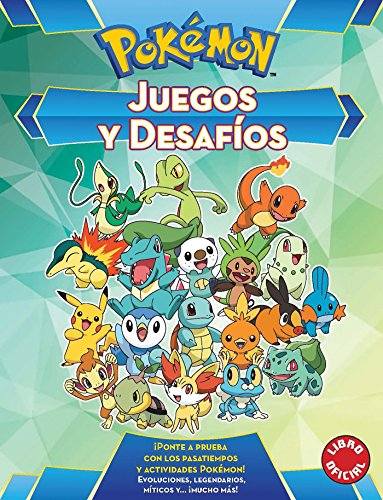 Juegos y desafíos (Colección Pokémon) por Varios autores