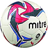 Mitre Pro Futsal Match Ball - White/Red/Black, Size 4