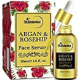 StBotanica Argan & Rosehip Face Serum - 30ml - For Anti Aging, Anti