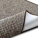 casa pura Teppich Grandeur | pflegeleichtes Bouclé | viele Größen | für Flur, Wohnzimmer, Esszimmer, Küche, Schlafzimmer, Büro | gekettelt (Braun - 240x340 cm)