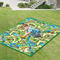 Eduk8 Worldwide | Zoo Play Mat, 120 x 100 cm