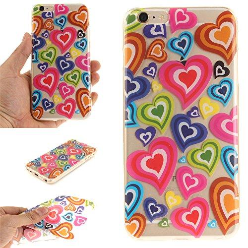 Ooboom® iPhone 5SE Coque Housse Transparent TPU Silicone Gel Étui Cover Case Ultra Mince Slim pour iPhone 5SE - Fleurs de Prunier Amour