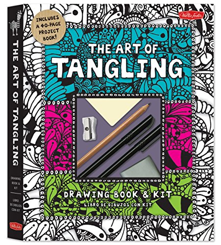 The Art of Tangling Drawing Book & Kit: Inspiring drawings, designs & ideas for the meditative artist (Craft) por Walter Foster Creative Team