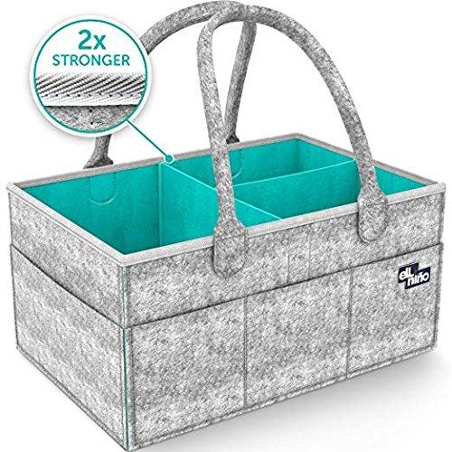 Baby Diaper Caddy Organizer Nursery Storage Bag pañales