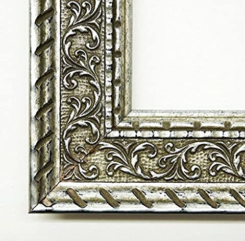 Real Wood – Mirror Mirror – Chateau Silver 5.7 – External Dimensions 30 x 50 cm Wall