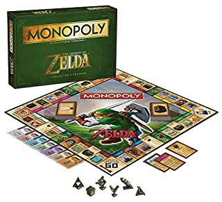 USAopoly Monopoly The Legend of Zelda Collectors Edition (B00K3EYT50) | Amazon price tracker / tracking, Amazon price history charts, Amazon price watches, Amazon price drop alerts