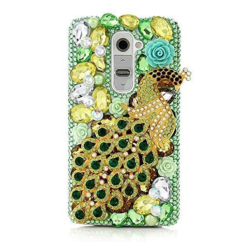 Spritech (TM) trasparente Custodia, Bling di cristallo 3d Handmade rigida Smartphone Cover per LG G5 design 13 design 24