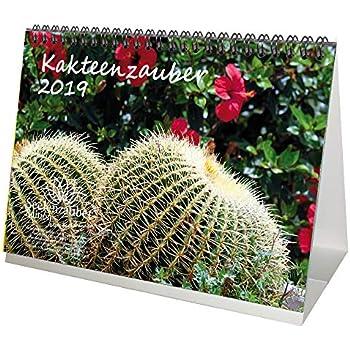 kakteenzauber din a5 premium tischkalender kalender 2019 kaktus sukkulente kakteen. Black Bedroom Furniture Sets. Home Design Ideas