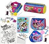 alles-meine.de GmbH Bastelset Zum Malen - Canvas Bild / Leinwand -  Disney Minnie Mouse & Daisy ..