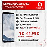 Samsung Galaxy S8 Smartphone (5,8 Zoll (14,7 cm) Touch-Display, 64GB interner Speicher, Android OS) arctic silver