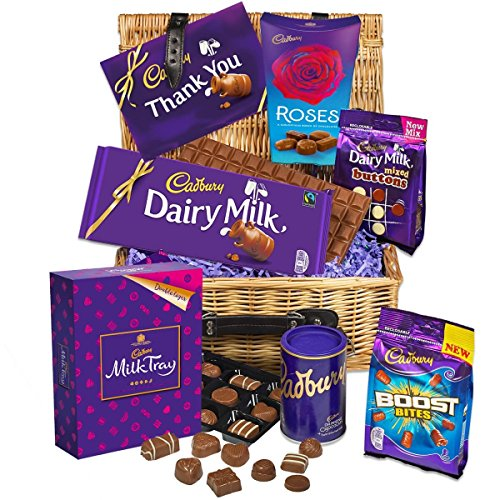 Cadbury Thank You Chocolate Basket