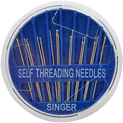 Singer-Nähnadeln, selbsteinfädelnd, 15 Stück -