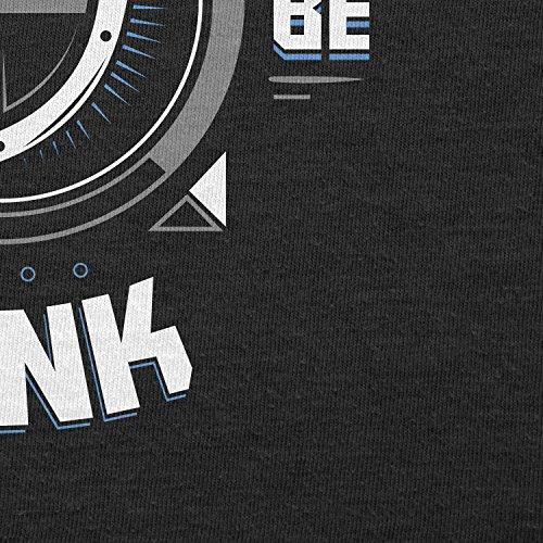 Texlab–Born To Be Tank–sacchetto di stoffa Nero