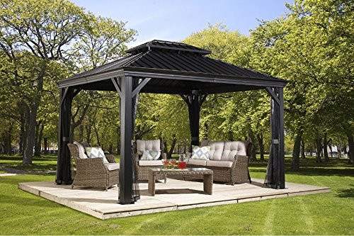 grillpavillon garten. Black Bedroom Furniture Sets. Home Design Ideas