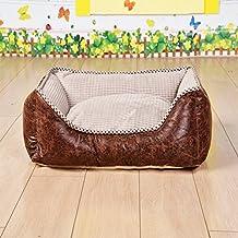 Pet Online Perro cama extraíble y resistente a la limpieza común four seasons engrosada cojines para