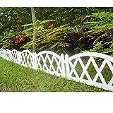 Worth Garten Kunststoff Zaun Pickets Indoor Outdoor Schutzgitter Einfassung Decor # 3118
