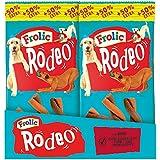 Frolic Rodeo Hundesnack Rind, 18 Packungen je 6 Stück (18 x 105 g)