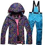ZEARO Neige Vestes + pantalon Femmes Ski Snowboard Ski costume
